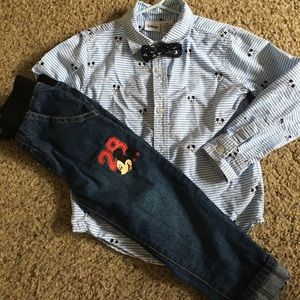 Mickey Mouse Outfit | 3T